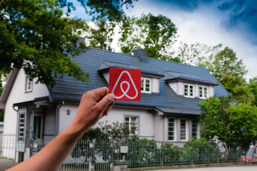 buying a property and list it on Airbnb