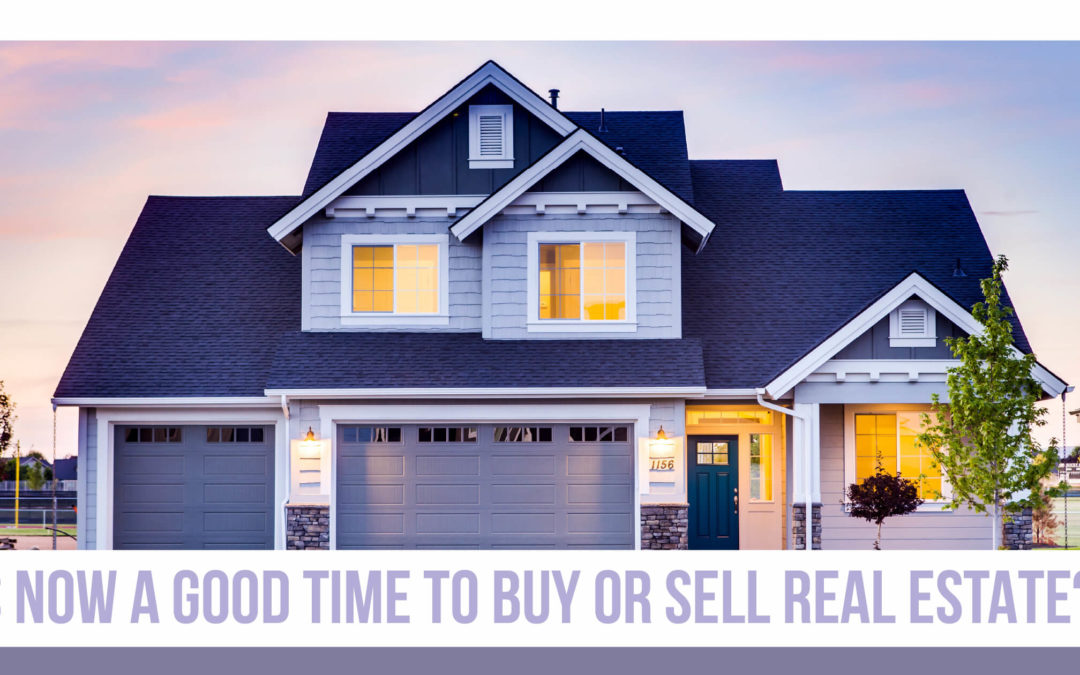 "Cover picture of the blog article ""is it a good time to buy or sell real esate in South Bay?"